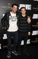 www.acepixs.com<br /> <br /> January 30 2017, LA<br /> <br /> Gilles Marini (L) and George Marini arriving at the premiere of 'John Wick: Chapter Two' on January 30, 2017 in Hollywood, California.<br /> <br /> By Line: Peter West/ACE Pictures<br /> <br /> <br /> ACE Pictures Inc<br /> Tel: 6467670430<br /> Email: info@acepixs.com<br /> www.acepixs.com