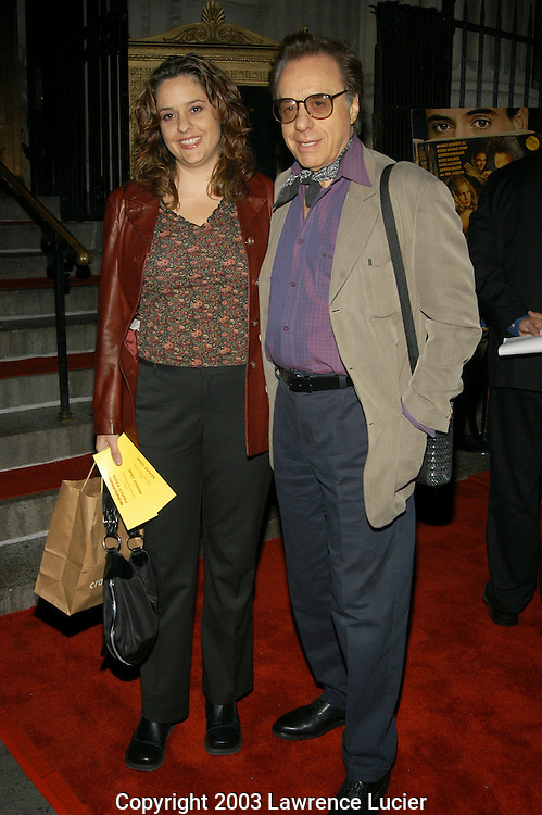 Sashy and Peter Bogdanovich