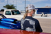 TUCSON, ARIZONA, USA, 10/2016:<br /> Wyscigi starych samochodow z lat 50-tych, 60, 70, 80 na torze &quot;Tucson Dragway&quot;. Kieruja nimi glownie biali amerykanscy emeryci.<br /> Fot: Piotr Malecki / Napo Images****<br /> TUCSON, ARIZONA, USA, OCTOBER 2016:<br /> Vintage car racing at the Tucson Dragway. Cars from 50's, 60's, 70's and 80's owned mainly by well off pensioners, beneficiaries of the previously generous American pension system - older white Americans. They compete to make a one mile straight strip road as fast as possible. The powerful custom engines have 500, 600, or even 700 horsepower.<br /> (Photo by Piotr Malecki / Napo Images)