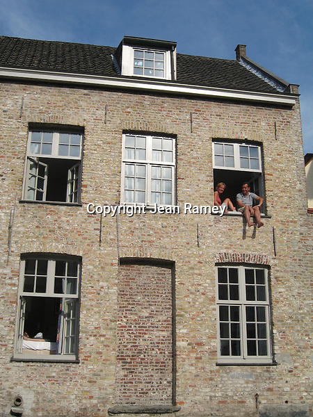 Just Hanging Out in Brugge