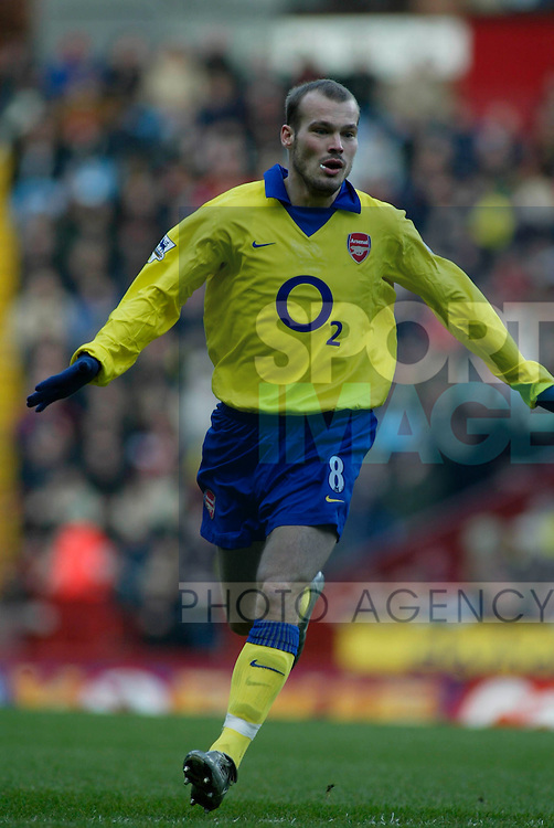 Arsenal's Fredrick Ljungberg