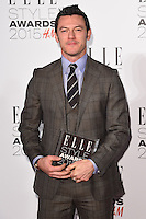 Luke Evans at the Elle Style Awards 2015 at Sky Bar, Walkie Talkie Building, London, 24/02/2015 Picture by: Steve Vas / Featureflash