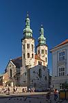 Ulica Grodzka, kości&oacute;ł św. Andrzeja, Krak&oacute;w, Polska<br /> Grodzka Street, church of St. Andrew in the background, Cracow, Poland