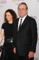 Tommy Lee Jones and wife Dawn Laurel-Jones attend the world premiere of &quot;Hope Springs&quot; at SVA Theater in New York, 06.08.2012. Credit: Rolf Mueller/face to face..Credit: Rolf Mueller/face to face face to face / mediapunchinc /NortePhoto.com<br />
