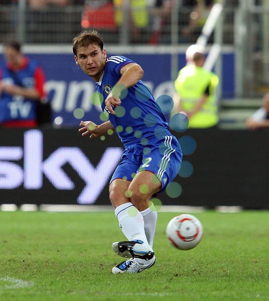 Freundschaftsspiel,.Eintracht Frankfurt vs. FC Chelsea, 01.08.2010.Branislav Ivanovic (Chelsea#2)..Picture: Hasan Bratic/Universal News And Sport (Europe).
