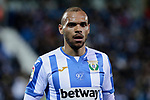 CD Leganes's Martin Braithwaite during La Liga match between CD Leganes and Levante UD at Butarque Stadium in Leganes, Spain. March 04, 2019. (ALTERPHOTOS/A. Perez Meca)