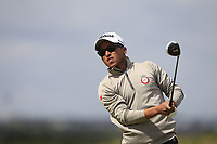 Ayoub Id Omar (Morocco) on the 5th tee during Round 1 of the The Amateur Championship 2019 at The Island Golf Club, Co. Dublin on Monday 17th June 2019.<br /> Picture:  Thos Caffrey / Golffile<br /> <br /> All photo usage must carry mandatory copyright credit (© Golffile | Thos Caffrey)