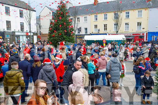 Festive fun at the Snow Day in the square in Tralee on Saturday.