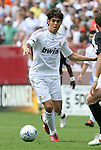 09 August 2009: Madrid's Kaka (BRA). Real Madrid of Spain's La Liga played DC United of Major League Soccer at FedEx Field in Landover, Maryland in an international club friendly soccer match.