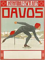 Pre-war ski poster sale.