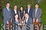 PRESENTATION: Thje mayor of Tralee Gillian Wartyon Slattery who presented Jamie Chien with a special made clock in Ballygarry House Hotel & Spa, Tralee on Tuesday evening looking on were Tom Curran (town Manager), Pat Crean, Claire Hobbert, Rick Earley and Joey Teo.....