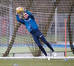 06.03.2020: Rangers training: Allan McGregor