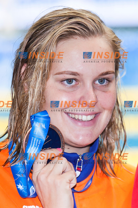 ROUWENDAAL Sharon NED bronze medal<br /> Women's 800m freestyle final<br /> Netanya, Israel, Wingate Institute<br /> LEN European Short Course Swimming Championships  Dec. 2 - 6, 2015 Day02 Dec. 3nd<br /> Nuoto Campionati Europei di nuoto in vasca corta<br /> Photo Insidefoto