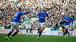 29.12.2019 Celtic v Rangers: Nikola Katic celebrates his goal