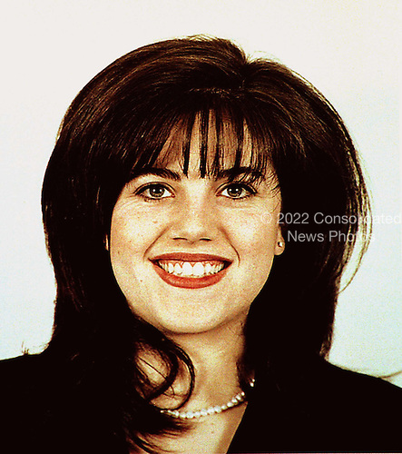 Washington, DC - January 21, 1998 -- Head Shot of Monica Lewinsky, 23, a former White House intern who is alleged to have had an affair with United States President Bill Clinton..Credit: Helene Stikkel - DoD via CNP