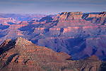 Morning light on the Grand Canyon from Desert View, South Rim, Grand Canyon Nat. Pk., ARIZONA