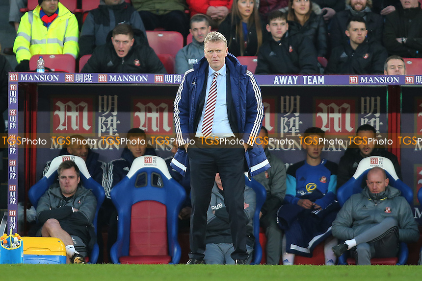 David Moyes manager of Sunderland during Crystal Palace vs Sunderland AFC, Premier League Football at Selhurst Park on 4th February 2017
