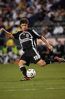 D. C. United defender (18) Devon McTavish during the first half against Los Angeles Galaxy's at the Home Depot Center in Carson, CA on Wednesday, August 15, 2007. The Los Angeles Galaxy defeated D. C. United 2-0 in a SuperLiga semifinal match...