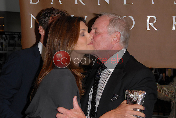 Cindy Crawford and Jerry Weintraub<br />