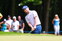 Branden Grace on the 1st green during the BMW PGA Golf Championship at Wentworth Golf Course, Wentworth Drive, Virginia Water, England on 28 May 2017. Photo by Steve McCarthy/PRiME Media Images.