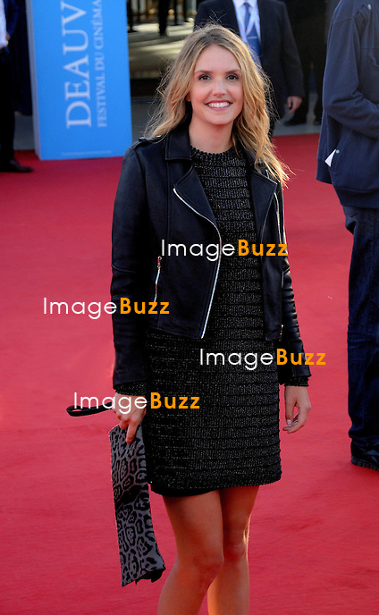 Laurence Arn&eacute; during the 39th Deauville Film Festival.<br /> Deauville, France, September 1, 2013.