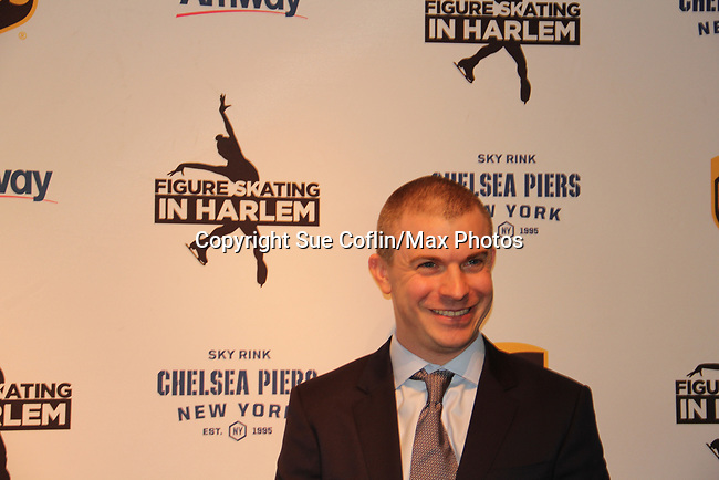 Honoree Tim Goebel - Figure Skating in Harlem presents Champions in Life Benefit Gala on April 29, 2019 at Chelsea Pier, New York City, New York - (Photo by Sue Coflin/Max Photos)