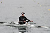 095 DartTotnesRC J16A.1x..Marlow Regatta Committee Thames Valley Trial Head. 1900m at Dorney Lake/Eton College Rowing Centre, Dorney, Buckinghamshire. Sunday 29 January 2012. Run over three divisions.