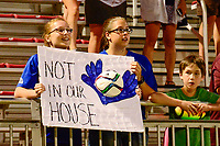 Boyds, MD - Saturday June 03, 2017:  Fans during a regular season National Women's Soccer League (NWSL) match between the Washington Spirit and the Houston Dash at Maureen Hendricks Field, Maryland SoccerPlex