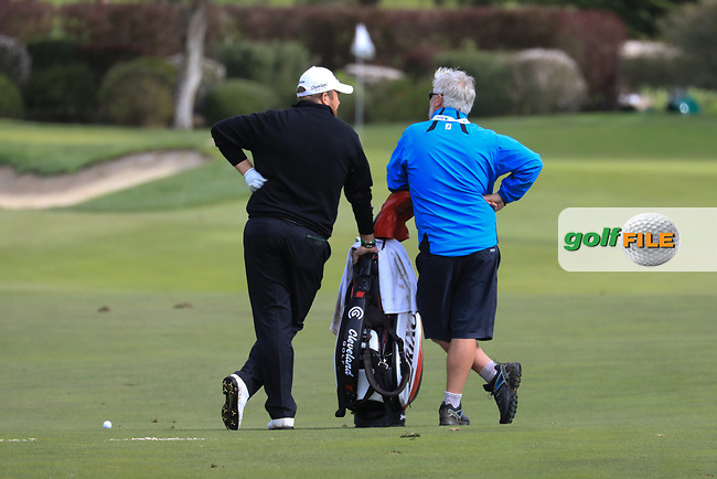 Shane Lowry (IRL) in action at Spyglass Hill Golf Course during the third round of the AT&amp;T Pro-Am, Pebble Beach Golf Links, Monterey, USA. 09/02/2019<br /> Picture: Golffile | Phil Inglis<br /> <br /> <br /> All photo usage must carry mandatory copyright credit (&copy; Golffile | Phil Inglis)