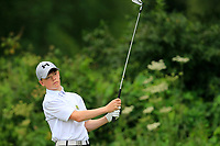Steven Gormley (Blainroe) during the Connacht U14 Boys Amateur Open, Ballinasloe Golf Club, Ballinasloe, Galway,  Ireland. 10/07/2019<br /> Picture: Golffile | Fran Caffrey<br /> <br /> <br /> All photo usage must carry mandatory copyright credit (© Golffile | Fran Caffrey)
