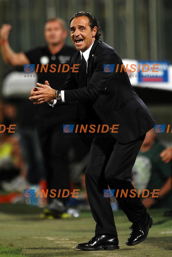 """Cesare PRANDELLI.Firenze 6/9/2011 Stadio """"Artemio Franchi"""".Football Calcio 2011/2012.Italia Vs Slovenia Qualificazioni Euro2012.Foto Insidefoto Andrea Staccioli"""