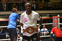 Jumanne Camero defeats David Birmingham during a Boxing Show at York Hall on 9th July 2017