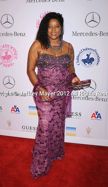 BEVERLY HILLS, CA - OCTOBER 20: Loretta Devine arrives at the 26th Anniversary Carousel Of Hope Ball presented by Mercedes-Benz at The Beverly Hilton Hotel on October 20, 2012 in Beverly Hills, California.