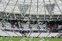 Bubbles during West Ham United vs Everton, Premier League Football at The London Stadium on 13th May 2018