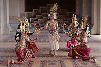 Images from the Book Journey Through Colour and Time<br /> Traditional APSARA Performers at the Grand Palace in Phnom Penh