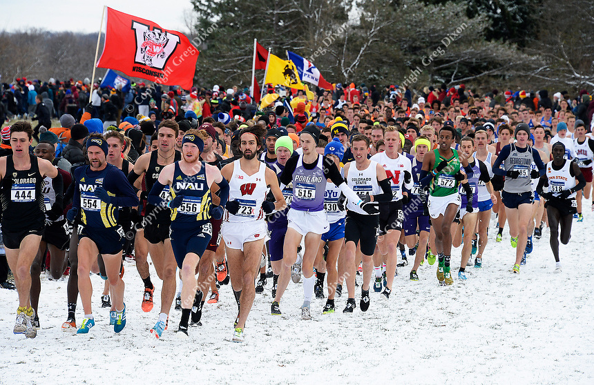 2018 NCAA cross country nationals on Saturday, 11/17/18 at the University of Wisconsin - Madison's Thomas Zimmer Championship Course