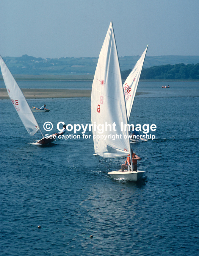 Regatta, Mullinasole Bay, near Donegal Town, Ireland, 19770707001c..Copyright Image from Victor Patterson, 54 Dorchester Park, Belfast, United Kingdom, UK...For my Terms and Conditions of Use go to http://www.victorpatterson.com/Victor_Patterson/Terms_%26_Conditions.html