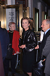 """Lee Radizwill attends the Opening Night of """"Tjhou Shault Not"""" at the Plymouth Theater on October 26, 2001 in New York City."""