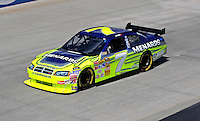 Sept. 19, 2008; Dover, DE, USA; Nascar Sprint Cup Series driver Robby Gordon during practice for the Camping World RV 400 at Dover International Speedway. Mandatory Credit: Mark J. Rebilas-
