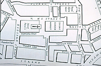 London: Covent Garden and Environs--1969 Map from M.C. Borer, COVENT GARDEN, 1967.