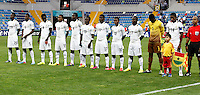 Ghana's players during their FIFA U-20 World Cup Turkey 2013 Group Stage Group A soccer match Ghana betwen USA at the Kadir Has stadium in Kayseri on June 27, 2013. Photo by Aykut AKICI/isiphotos.com
