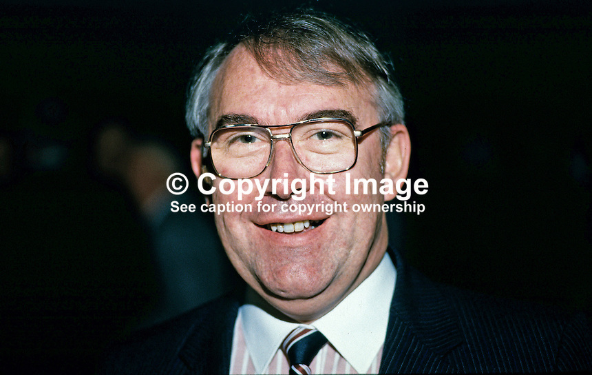 David Fell, secretary, Department of Economic Affairs, N Ireland, UK, 19850711DF..Copyright Image from Victor Patterson, 54 Dorchester Park, Belfast, UK, BT9 6RJ..Tel: +44 28 9066 1296.Mob: +44 7802 353836.Voicemail +44 20 8816 7153.Skype: victorpattersonbelfast.Email: victorpatterson@mac.com.Email: victorpatterson@ireland.com (back-up)..IMPORTANT: If you wish to use this image or any other of my images please go to www.victorpatterson.com and click on the Terms & Conditions. Then contact me by email or phone with the reference number(s) of the image(s) concerned.