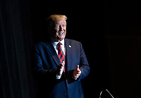 United States President Donald J. Trump arrives on stage to deliver remarks at the 2019 National Historically Black Colleges and Universities Week Conference at the Renaissance Hotel in Washington, DC on Tuesday, September 10, 2019. <br /> CAP/MPI/RS<br /> ©RS/MPI/Capital Pictures