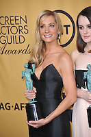 Downton Abbey star Joanne Froggatt at the 2015 Screen Actors Guild  Awards at the Shrine Auditorium.<br /> January 25, 2015  Los Angeles, CA<br /> Picture: Paul Smith / Featureflash