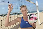 Edge:  Kerri Walsh<br /> Workout<br /> Manhattan Beach, CA, USA<br /> 6/2/2014<br /> X158301 TK1<br /> Credit: Donald Miralle