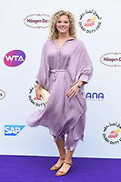 Katerina Siniakova<br /> arriving for the Tennis on the Thames WTA event in Bernie Spain Gardens, South Bank, London<br /> <br /> ©Ash Knotek  D3412  28/06/2018