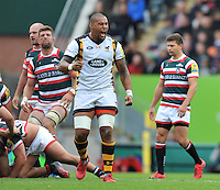 Premiership Rugby match Leicester Tigers v Wasps at Welford Road, Leicester, England on September 10
