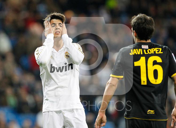 Madrid (04/03/2012).-Estadio Santiago Bernabeu..Liga BBVA..Real Madrid - Espanyol.Morata...©Alex Cid-Fuentes/ALFAQUI FOTOGRAFIA.........