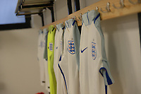 England C Dressing Room  during Slovakia Under-21 vs England C, International Challenge Trophy Football at Mestsky Stadion on 8th November 2017