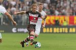 22.07.2017, Millerntor-Stadion, Hamburg, GER, FSP, FC St. Pauli vs SV Werder Bremen<br /> <br /> im Bild<br /> Mats Moller Daehli / MATS M&Oslash;LLER D&AElig;HLI (St. Pauli #14) im Duell / im Zweikampf mit Florian Kainz (Werder Bremen #7), <br /> <br /> Foto &copy; nordphoto / Ewert